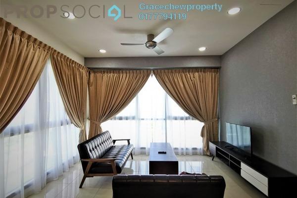 Condominium For Rent in Iskandar Residences, Medini Freehold Fully Furnished 1R/1B 1.2k