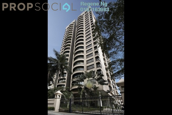 For Rent Condominium at Regency Tower, Bukit Ceylon Freehold Fully Furnished 3R/3B 6k