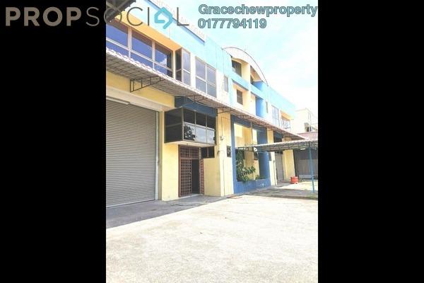 Factory For Sale in Taman Perindustrian Cemerlang, Ulu Tiram Freehold Semi Furnished 0R/0B 1.85m