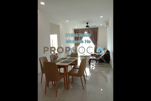 Serviced Residence For Rent in Havona, Tebrau Freehold Fully Furnished 2R/2B 1.9k