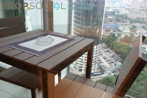 Condominium For Rent in Marc Service Residence, KLCC Freehold Fully Furnished 1R/1B 2.5k