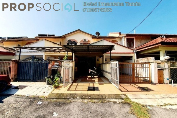 Townhouse For Sale in Templer Suasana, Templer's Park Freehold Semi Furnished 3R/2B 330k