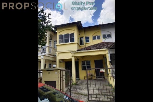 Terrace For Rent in Kasawari , Bandar Puchong Jaya Freehold Semi Furnished 4R/3B 1.3k