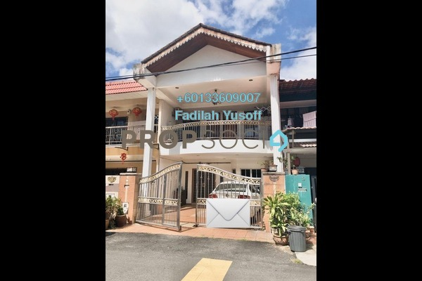 Terrace For Sale in Taman Maju Jaya, Pandan Indah Freehold Unfurnished 5R/3B 690k