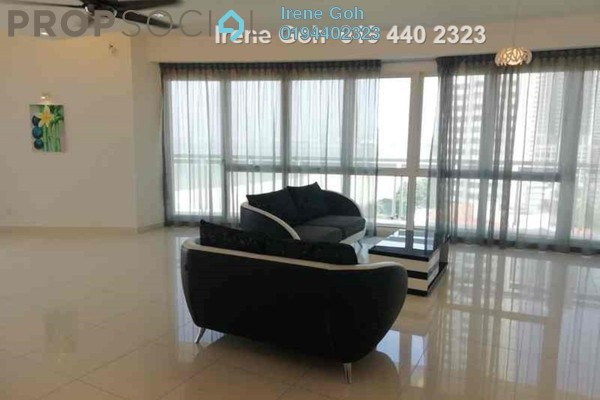 For Rent Condominium at Gurney Paragon, Gurney Drive Freehold Semi Furnished 4R/4B 8.5k