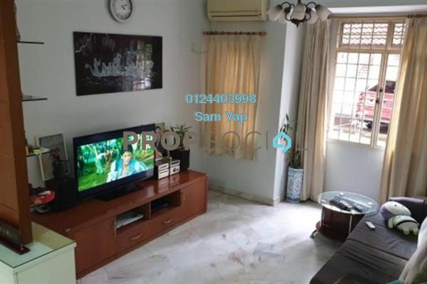 For Rent Apartment at Sentosa Court, Old Klang Road Freehold Semi Furnished 4R/2B 1.5k