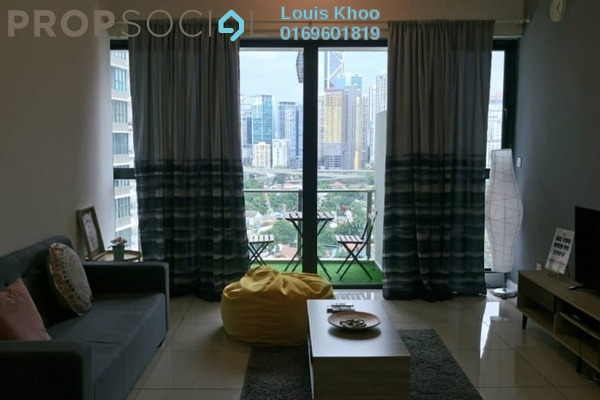 For Sale Condominium at Setia Sky Residences, KLCC Freehold Semi Furnished 2R/2B 1m