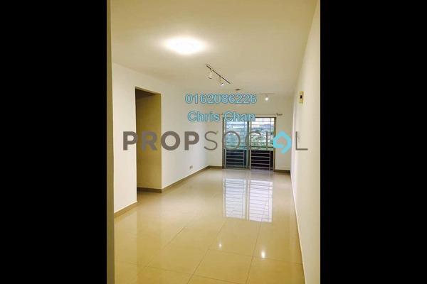 Apartment For Rent in Kinrara Mas, Bukit Jalil Freehold Semi Furnished 3R/2B 1.2k