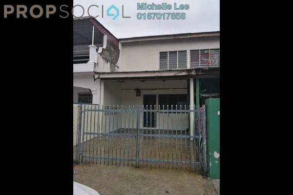 Terrace For Rent in Taman Puteri Wangsa, Ulu Tiram Freehold Unfurnished 2R/1B 700translationmissing:en.pricing.unit
