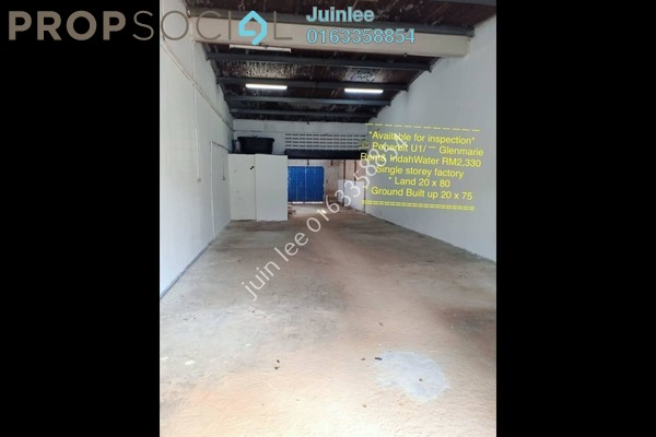 Factory For Rent in Temasya Industrial Park, Temasya Glenmarie Freehold Unfurnished 0R/0B 2.33k