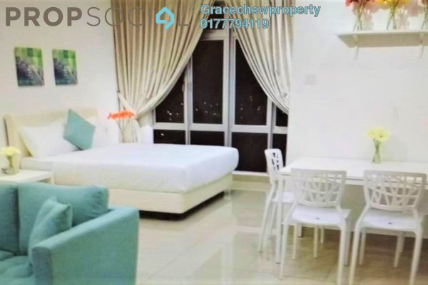 Serviced Residence For Sale in Manhattan @ Austin Heights, Tebrau Freehold Fully Furnished 1R/1B 320k