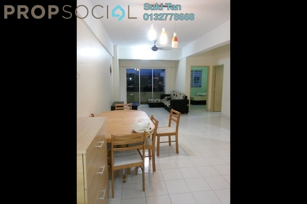 Apartment For Rent in Vista Mutiara, Kepong Freehold Semi Furnished 3R/2B 1.35k