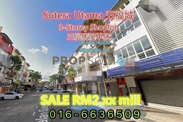 Shop For Sale in Taman Sutera Utama, Skudai Freehold Semi Furnished 0R/0B 2.8m