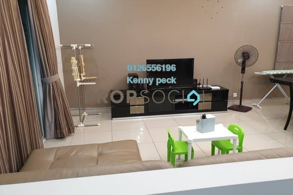 For Rent Condominium at First Residence, Kepong Freehold Semi Furnished 3R/2B 1.85k