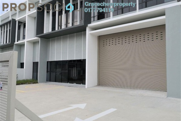 Factory For Rent in Taman Perindustrian Cemerlang, Ulu Tiram Freehold Unfurnished 0R/0B 8k