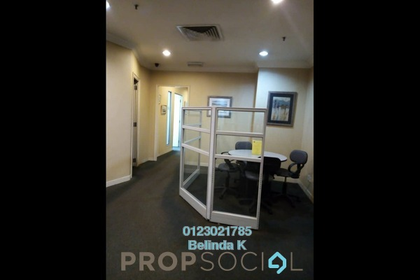 Office For Sale in Megan Avenue 2, KLCC Freehold Semi Furnished 0R/0B 1.91m