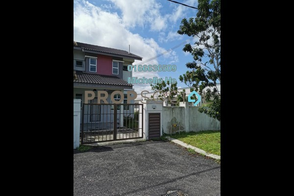 Terrace For Sale in Taman Pulai Indah, Pulai Freehold Semi Furnished 3R/3B 420k