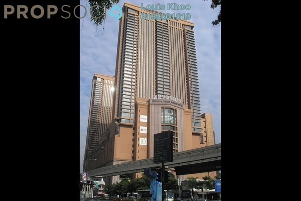 For Sale Condominium at Berjaya Times Square, Bukit Bintang Freehold Fully Furnished 1R/1B 580k