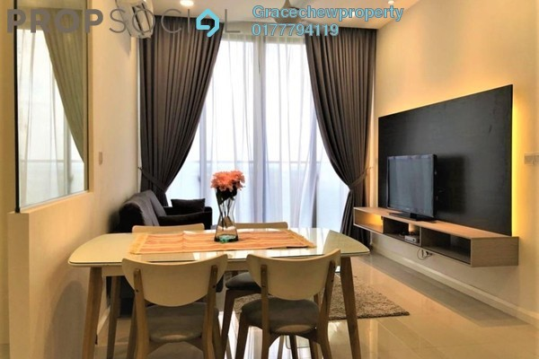 Serviced Residence For Rent in D'Pristine, Medini Freehold Fully Furnished 2R/2B 1.7k