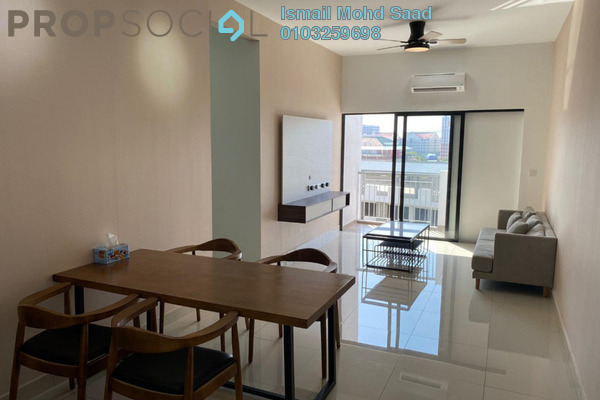 Condominium For Rent in The Olive, Sunsuria City Freehold Fully Furnished 3R/2B 1.5k