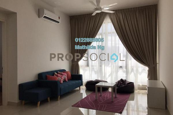 Serviced Residence For Rent in The Park Sky Residence @ Bukit Jalil City, Bukit Jalil Freehold Fully Furnished 2R/2B 2.2k