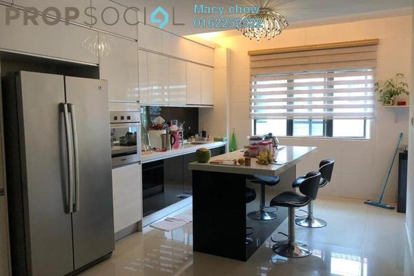 For Sale Superlink at Taman Bukit Permai, Cheras Freehold Semi Furnished 4R/5B 1.4m