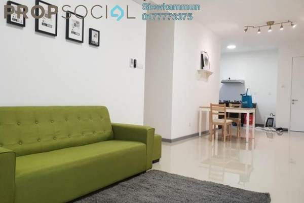 For Rent Serviced Residence at United Point Residence, Segambut Freehold Fully Furnished 3R/2B 2.2k