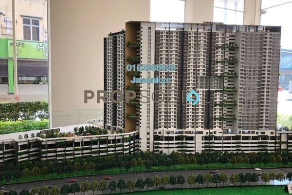 Condominium For Sale in Platinum Splendor Residence, Kuala Lumpur Freehold Unfurnished 3R/2B 455k
