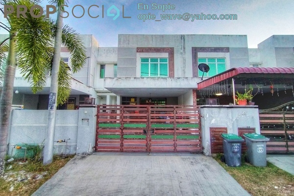 Terrace For Sale in Taman Bestari Indah, Ulu Tiram Freehold Unfurnished 6R/5B 455k