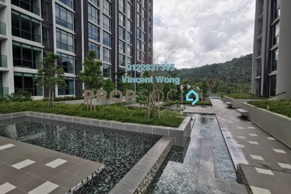 SoHo/Studio For Rent in Liberty Arc @ Ampang Ukay, Ukay Freehold Fully Furnished 0R/1B 1k