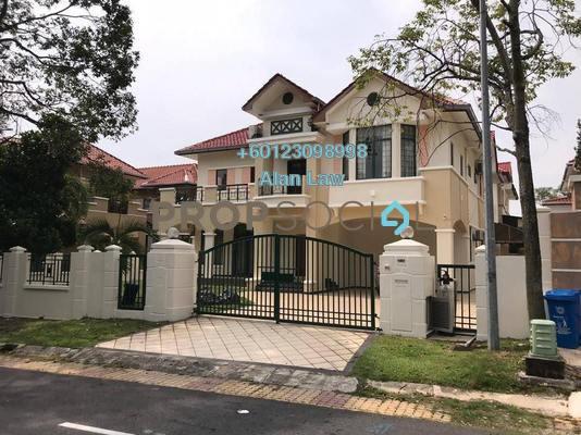 Bungalow For Sale in Oncidium Heights, Kota Kemuning Freehold Semi Furnished 5R/5B 2.8m
