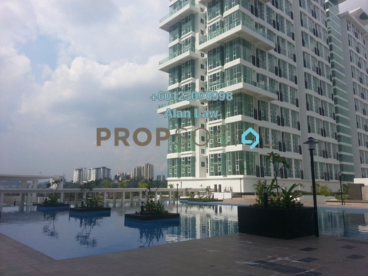 Duplex For Sale in The Scott Garden, Old Klang Road Freehold Semi Furnished 1R/2B 380k