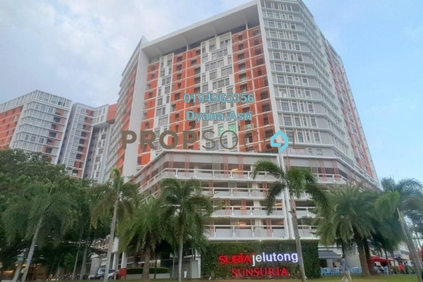 For Rent Serviced Residence at Suria Jelutong, Bukit Jelutong Freehold Semi Furnished 1R/1B 1.1k
