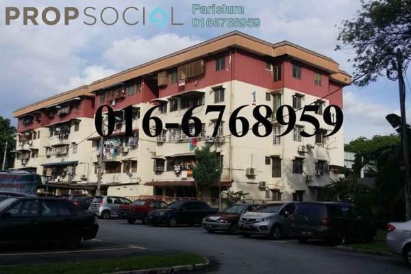Apartment For Sale in Pandan Jaya, Pandan Indah Freehold Unfurnished 3R/1B 225k