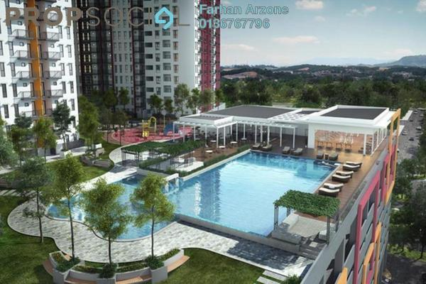 Condominium For Sale in Ascotte Boulevard, Semenyih Freehold Semi Furnished 3R/2B 280k