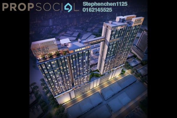 Serviced Residence For Sale in Axon, Bukit Bintang Leasehold Fully Furnished 1R/1B 702k