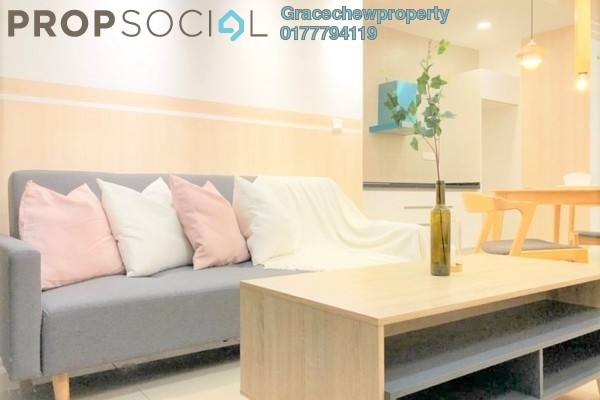 Condominium For Rent in D'Pristine, Medini Freehold Fully Furnished 2R/2B 1.4k