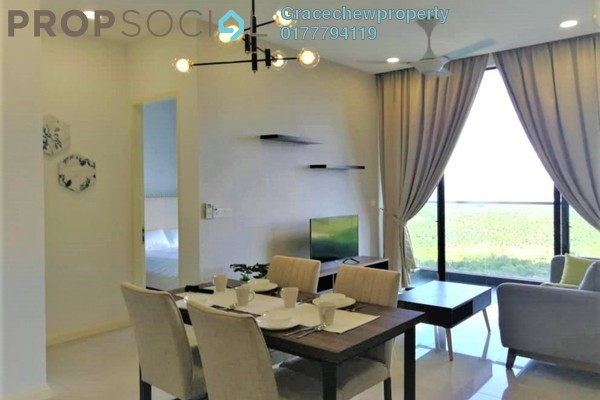 Condominium For Rent in D'Pristine, Medini Freehold Fully Furnished 2R/2B 1.8k