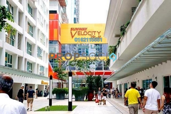 Office For Sale in V Residence Suites @ Sunway Velocity, Cheras Freehold Semi Furnished 0R/0B 1.59m