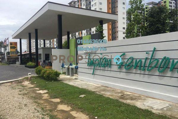 Apartment For Rent in Impian Senibong, Bandar Baru Permas Jaya Freehold Fully Furnished 3R/2B 1.6k