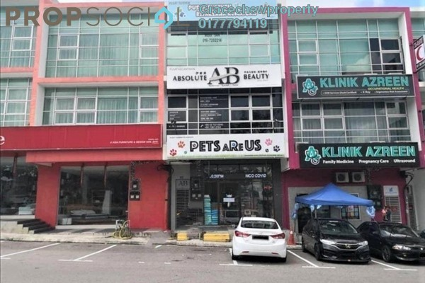 Shop For Rent in Perjiranan 15, Bandar Dato' Onn Freehold unfurnished 0R/0B 3.5k