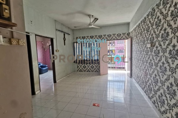 Apartment For Rent in Taman Chi Liung, Klang Freehold Unfurnished 2R/1B 600translationmissing:en.pricing.unit