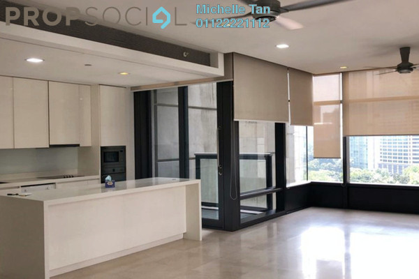 Serviced Residence For Sale in The Troika, KLCC Freehold Semi Furnished 2R/3B 2.35m