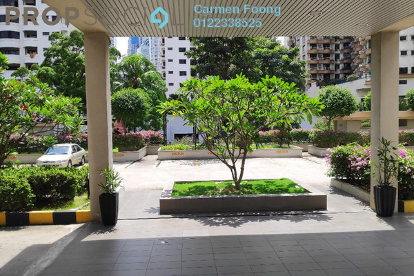 Condominium For Rent in Angkasa Impian 1, Bukit Ceylon Freehold Fully Furnished 1R/1B 1.5k