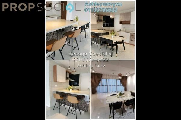 Condominium For Rent in Secoya Residences, Bukit Kerinchi Freehold Semi Furnished 2R/2B 2.7k