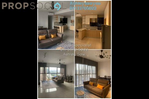 Condominium For Rent in Secoya Residences, Bukit Kerinchi Freehold Fully Furnished 2R/2B 3k