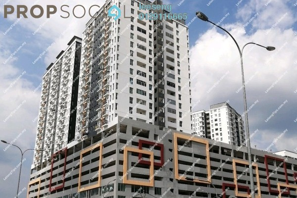 Serviced Residence For Sale in Ascotte Boulevard, Semenyih Freehold Unfurnished 0R/0B 261k