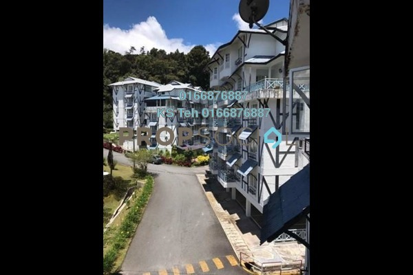 Apartment For Sale in Tanah Rata, Pahang Freehold Semi Furnished 2R/2B 290k
