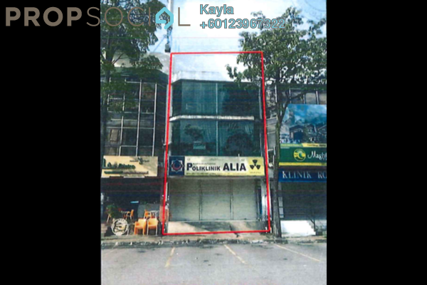 Shop For Sale in Section 9, Shah Alam Leasehold Unfurnished 0R/0B 1.89m
