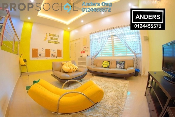 Terrace For Sale in Beverly Hills, Tanjung Bungah Freehold Fully Furnished 6R/5B 1.4m